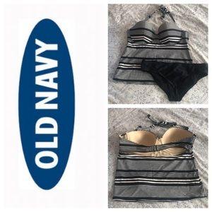 Old Navy Tankini - Womens XL top, L bottom